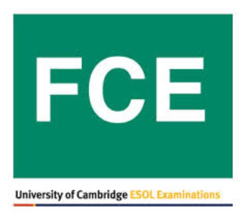 Iscrizione FCE - Sessione 28/29 maggio 2019